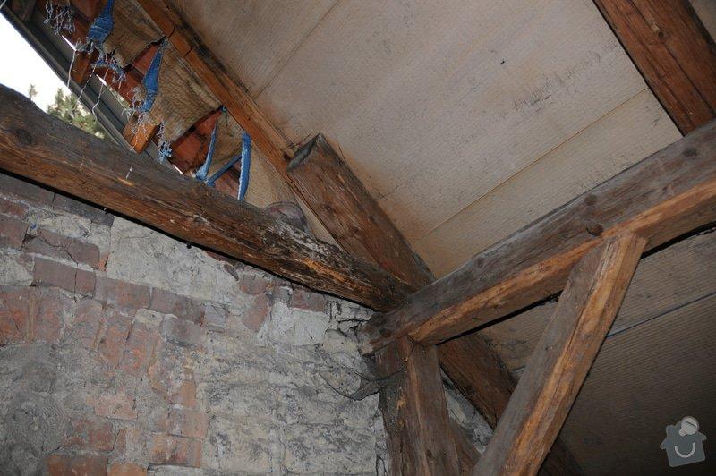 Kontrola krovu / trámů střechy: DSC_1404