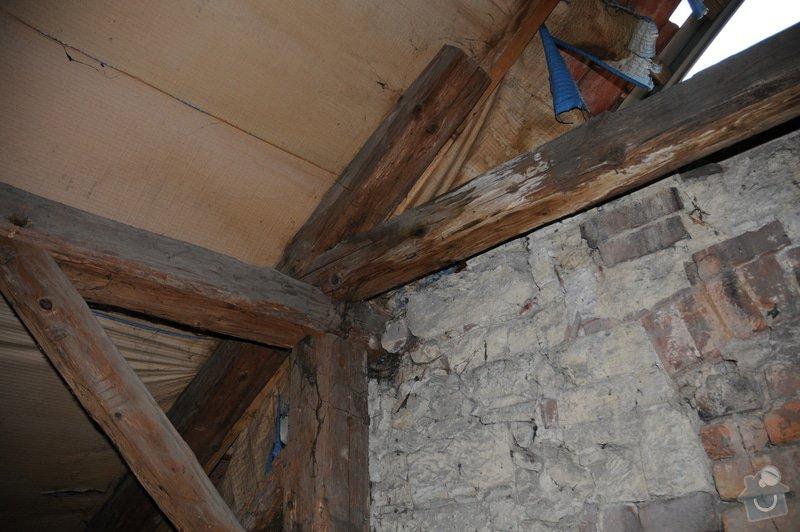 Kontrola krovu / trámů střechy: DSC_1405