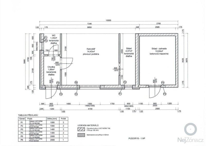 Ubourání stávajících kolen a výstavbu nebytových prostor: Vykres_6