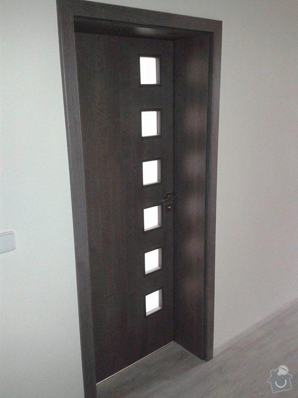 Dodávka a montáž vnitřních dveří a obložkových zárubní vč.kování-byt Levín: 10013923_4154712522965_1483218535_n