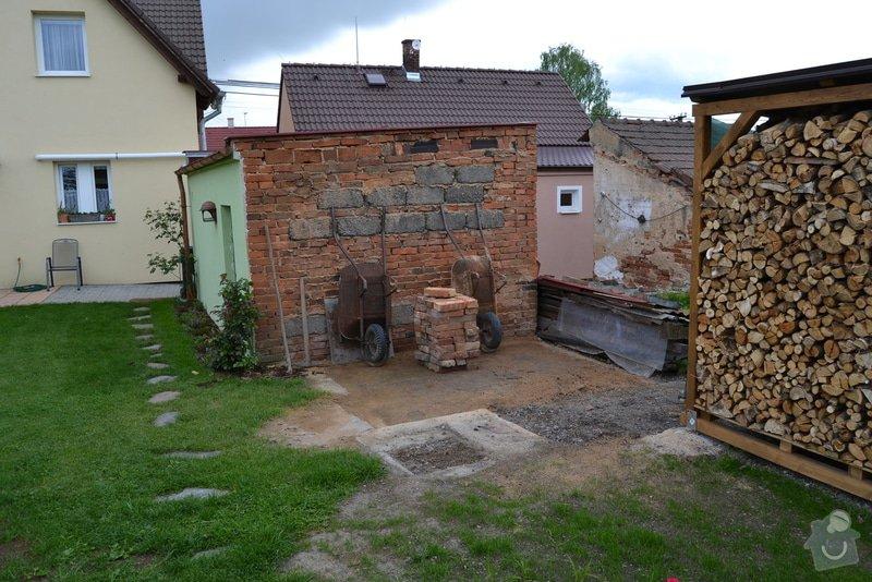 Stavba kotce a boudy pro Bernského salašnického: DSC_2542