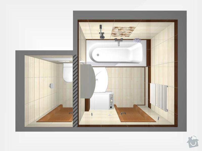 Kompletní rekonstrukce bytového jádra: 3D-Madera-01
