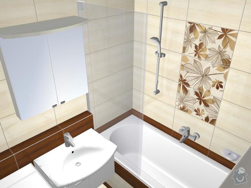 Kompletní rekonstrukce bytového jádra: 3D-Madera-02