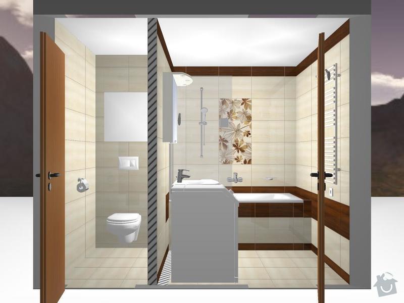 Kompletní rekonstrukce bytového jádra: 3D-Madera-08