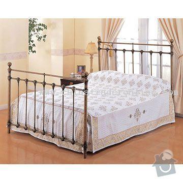 Kovaná postel pro matrace (2x 80x200cm): Metal-Bed-22384427713