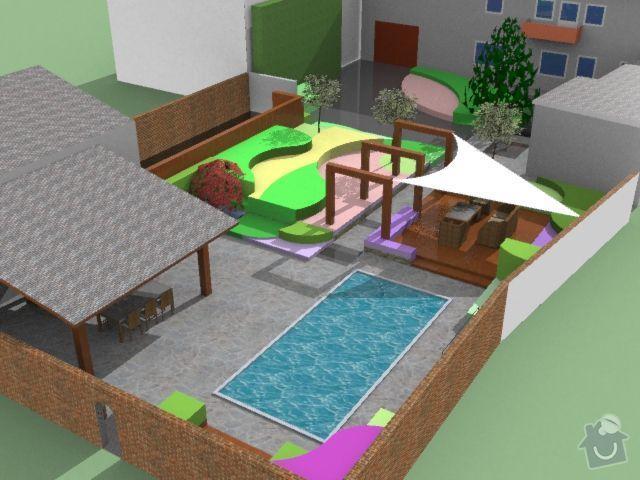 Návrh rodinné zahrady: drzovice2