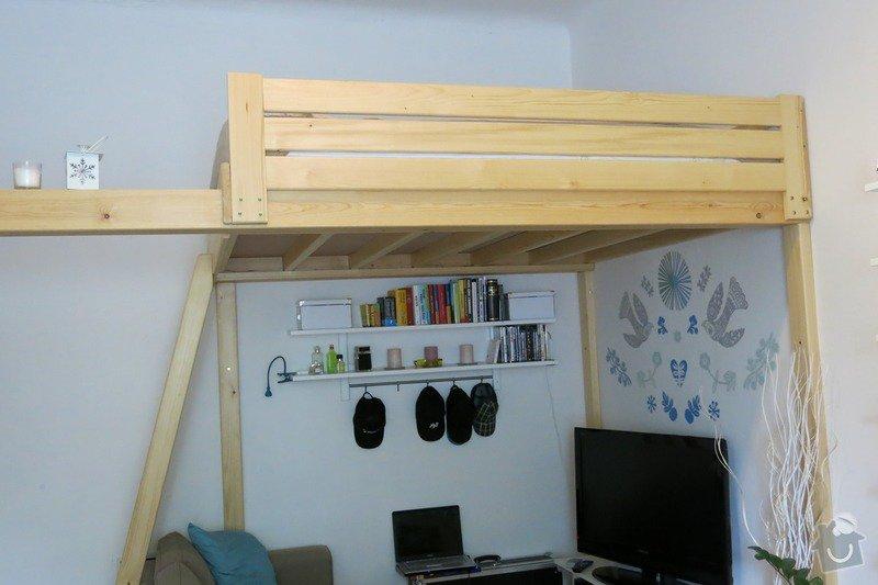 Předělání patrové postele: IMG_3633