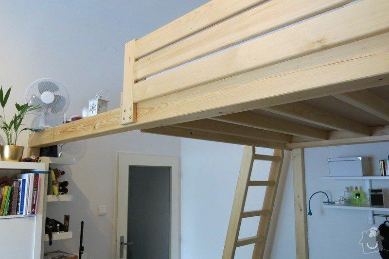 Předělání patrové postele: IMG_3634