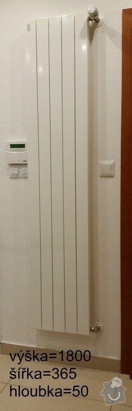 Výměna topení: radiator_predsin