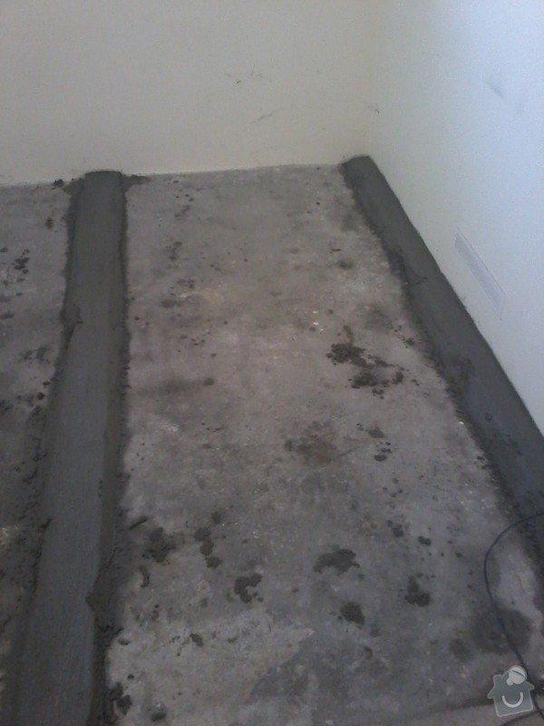 Vyrovnani podlahy o 3cm a poklad 22m2 dlazby : 20140423_110404