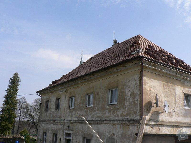 Rekonstrukce střechy : P1160123