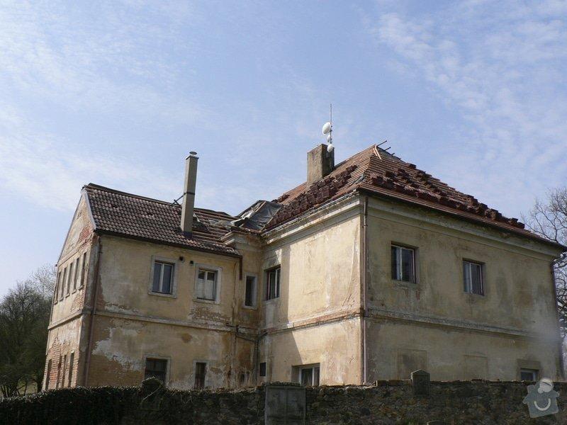 Rekonstrukce střechy : P1160124