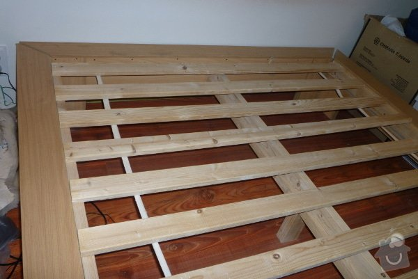Výroba nábytku: Postel1