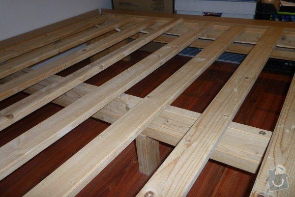 Výroba nábytku: Postel2