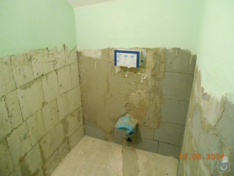 Položení dlažby a obkladu - malé wc: foto_003