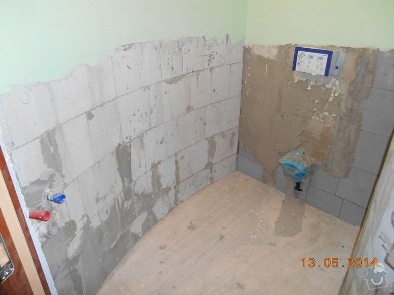 Položení dlažby a obkladu - malé wc: foto_008