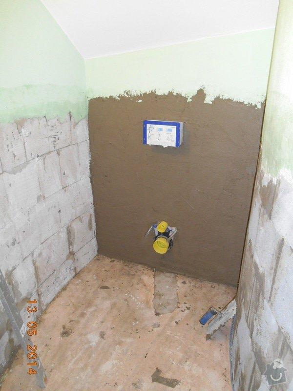 Položení dlažby a obkladu - malé wc: foto_011