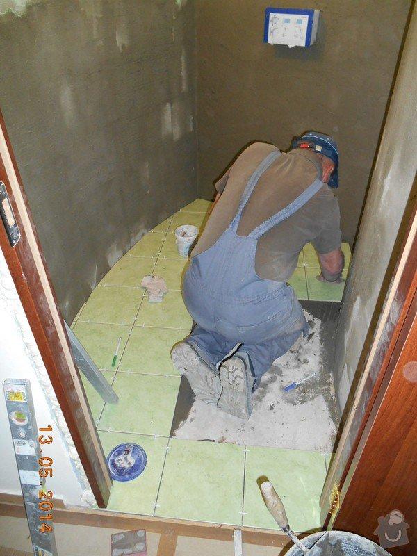Položení dlažby a obkladu - malé wc: foto_028