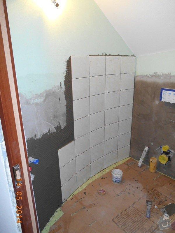 Položení dlažby a obkladu - malé wc: foto_030