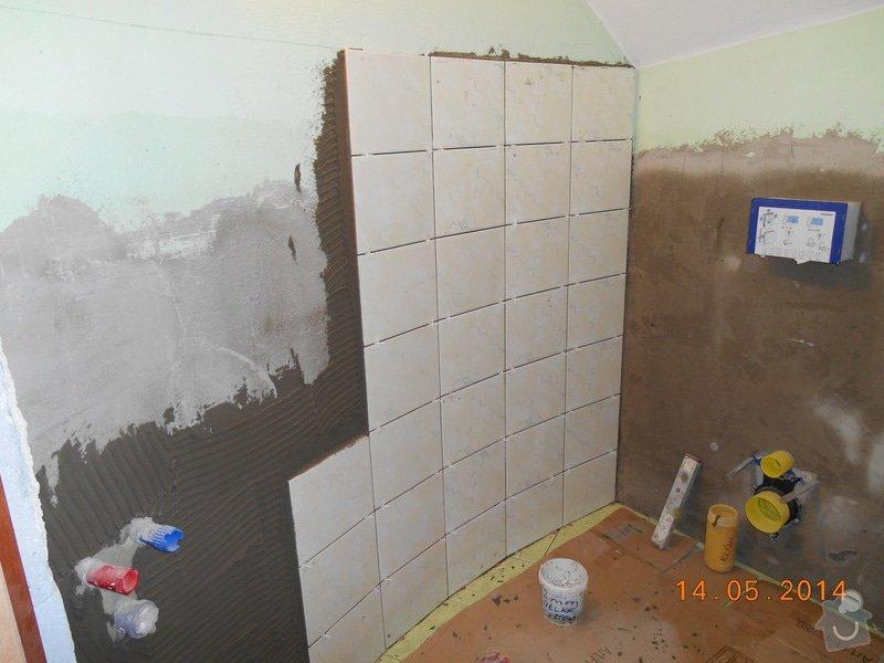 Položení dlažby a obkladu - malé wc: foto_031
