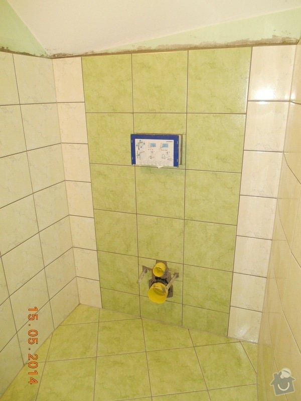 Položení dlažby a obkladu - malé wc: foto_059