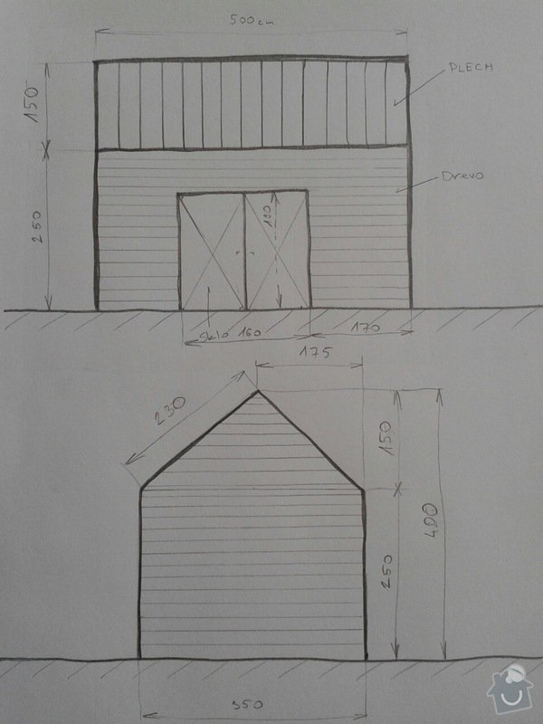 Dřevěnou konstrukci na zahradní chatu: b45521eb72bd7fa441e878f3658d78ec5cf756a95198bcc80629bce5b136d817