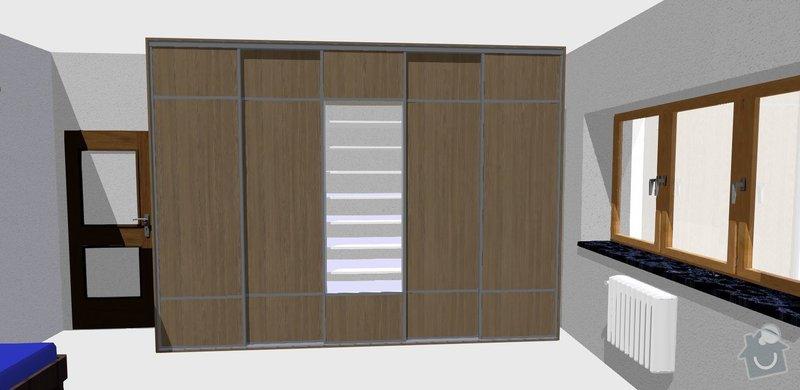 Vybavení pokoje nábytkem na míru: pohled_2
