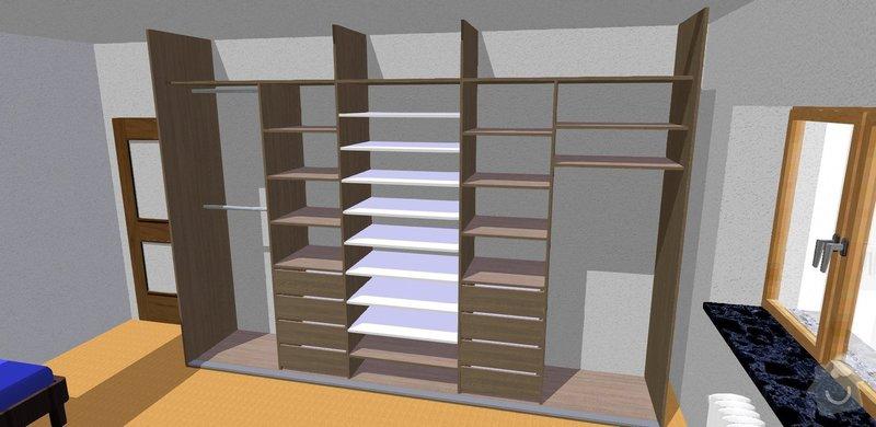 Vybavení pokoje nábytkem na míru: pohled_3