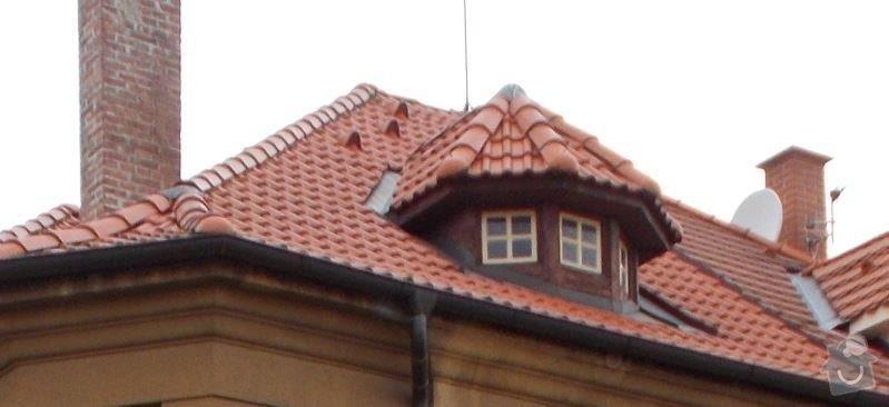 Výroba a montáž dřevěných oken: krytina_Bramac