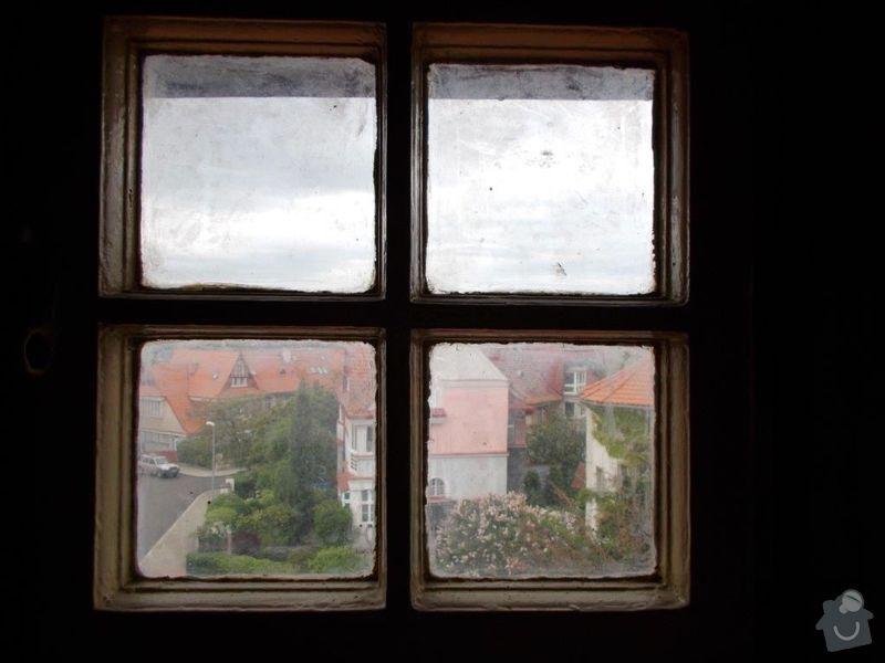 Výroba a montáž dřevěných oken: Okno_V