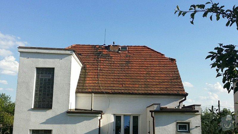 Pokrývačské práce - oprava střechy z pálených tašek: 424ce734162f7ca5ca8c29461fe8c6f6afa49cf0254292587e92c252df1d4207