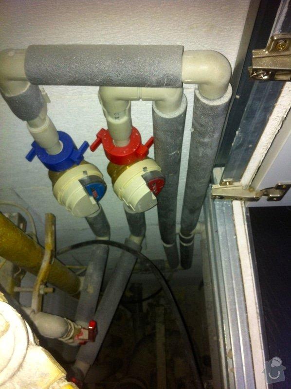 Instalace vodního filtru do potrubí v bytě: IMG_6219