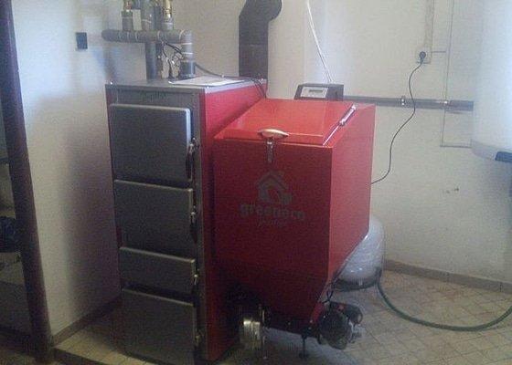 Prodej Automatický kotel Greeneco 20kW + montáž