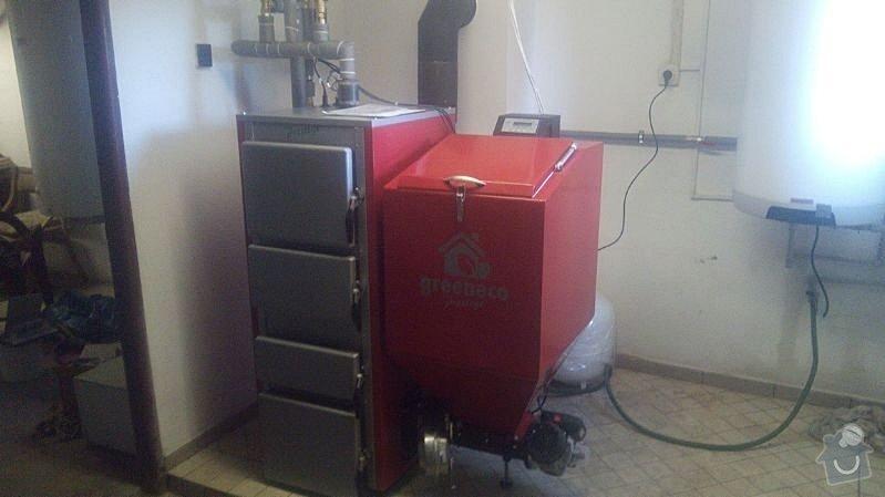 Prodej Automatický kotel Greeneco 20kW + montáž : IMG-20140520-WA0003