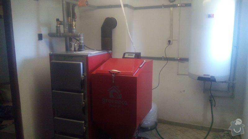 Prodej Automatický kotel Greeneco 20kW + montáž : IMG-20140520-WA0004
