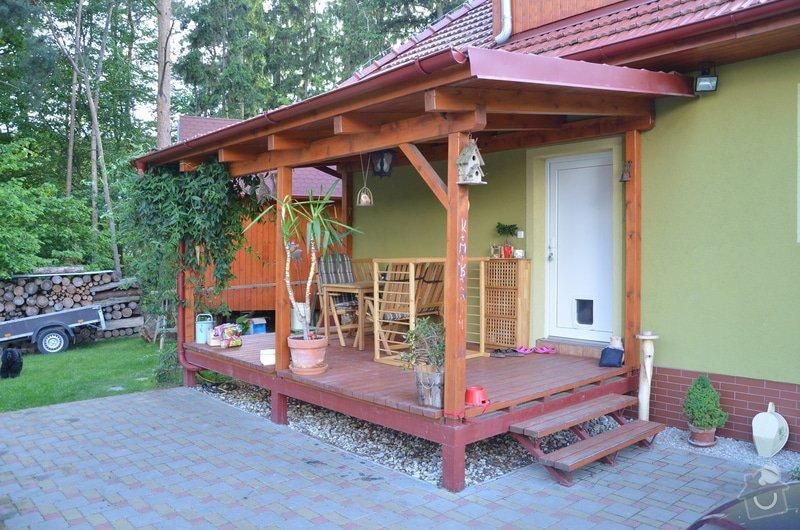 Dřevěné zábradlí na terase: DSC_2898