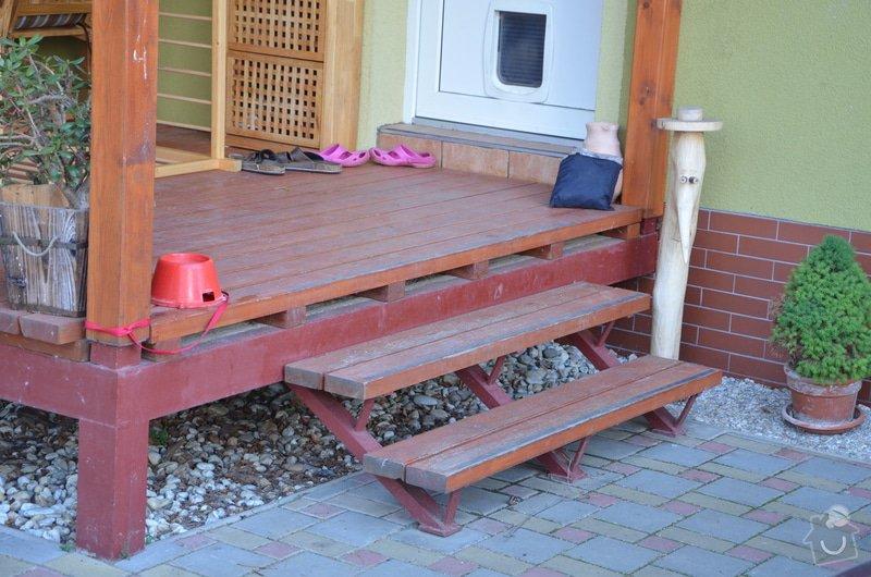 Dřevěné zábradlí na terase: DSC_2899