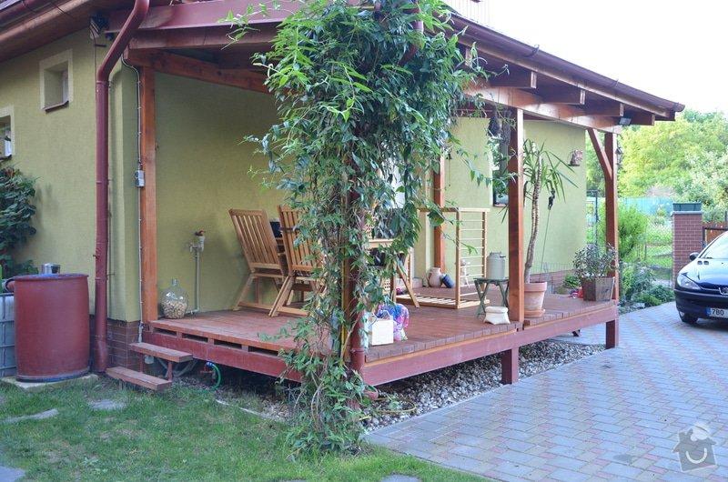 Dřevěné zábradlí na terase: DSC_2900