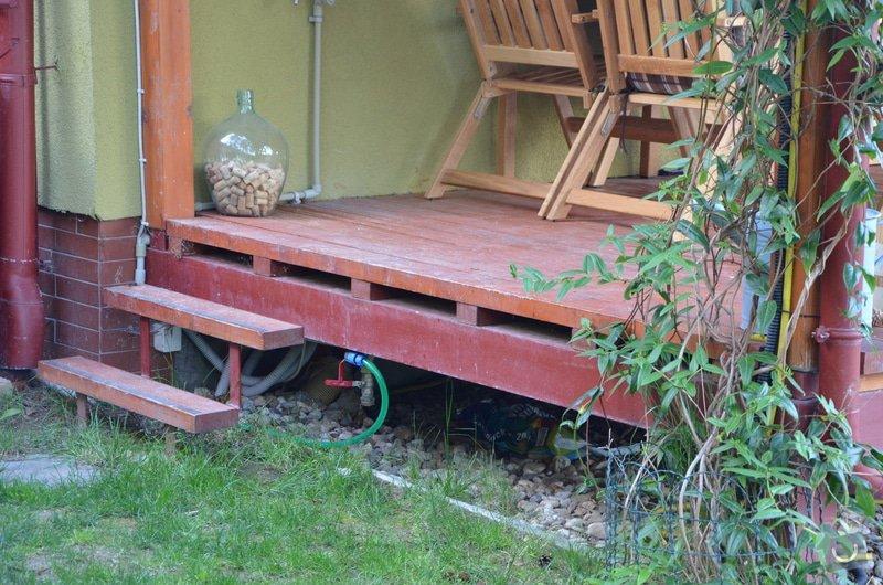 Dřevěné zábradlí na terase: DSC_2901