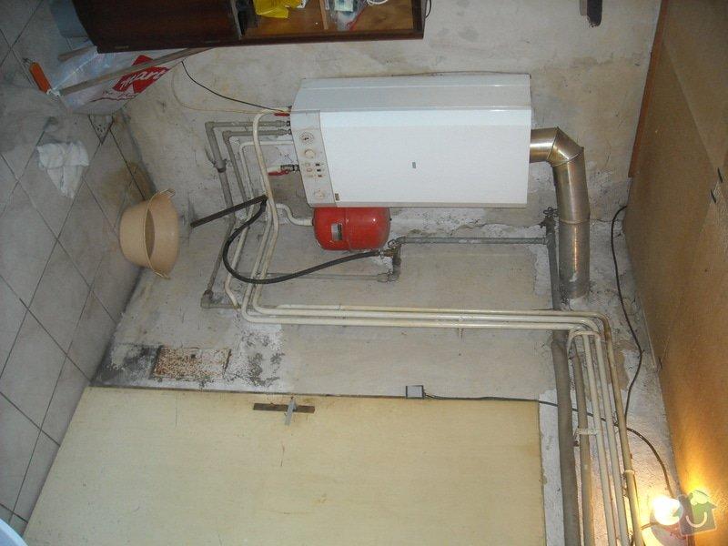 Vyvložkování komínu pro plynový kotel: zvonovice_kotel_komin_22.5.2014_001