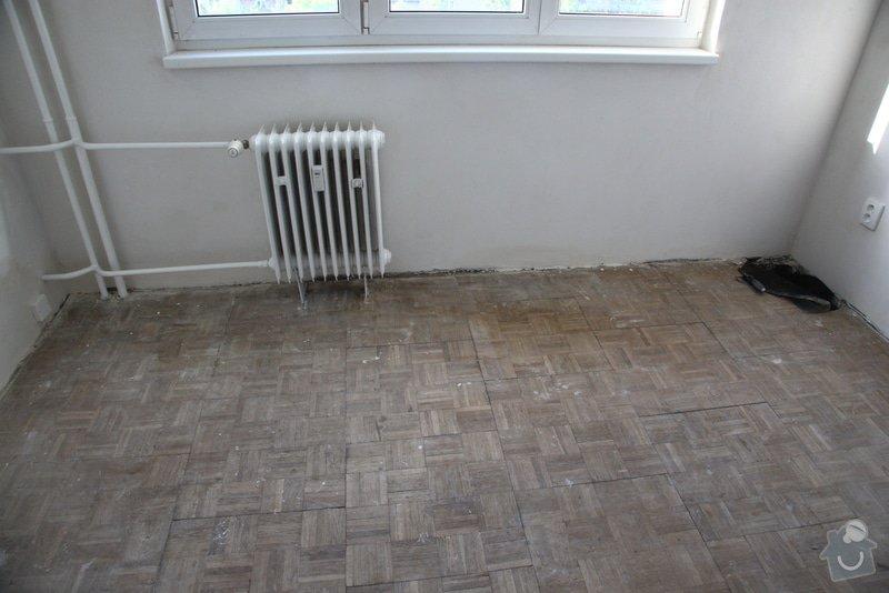 Výměná staré podlahy (skládané parkety) za plovoucí podlahu: IMG_2360