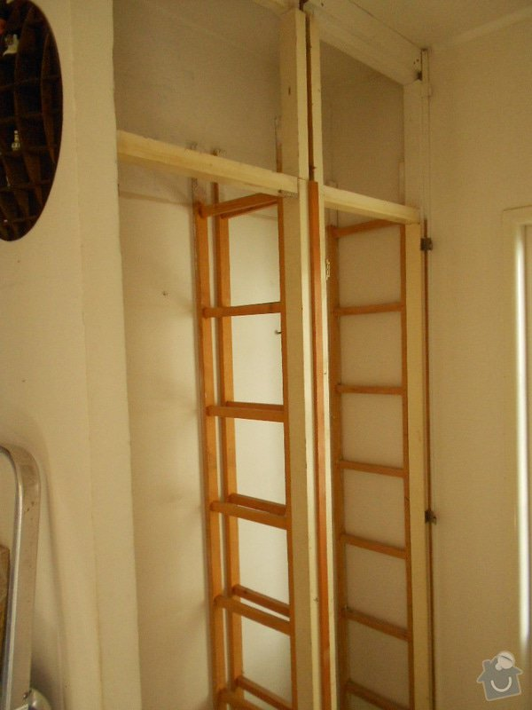 Vestavěná skříň,záclonové tyče: DSCN1069