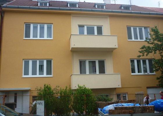 Rekonstrukce fasády -Brno -Černé pole