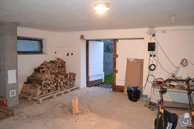 Rozšíření vjezdu garáže, nový překlad.: 02