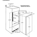 Vyroba kuchynske skrine pro vestavnou lednicku a mycku lednice