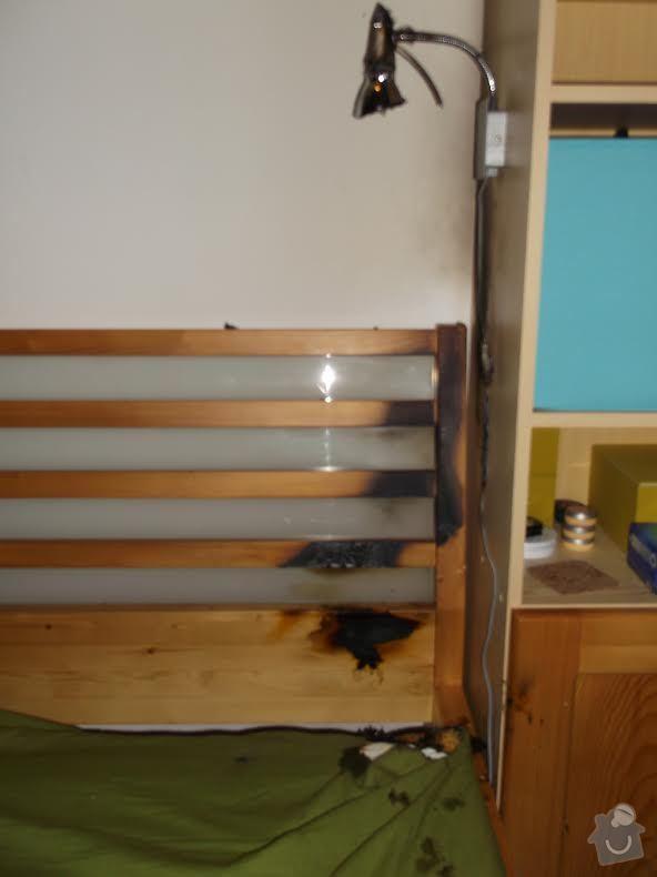 Oprava nabytku: postel