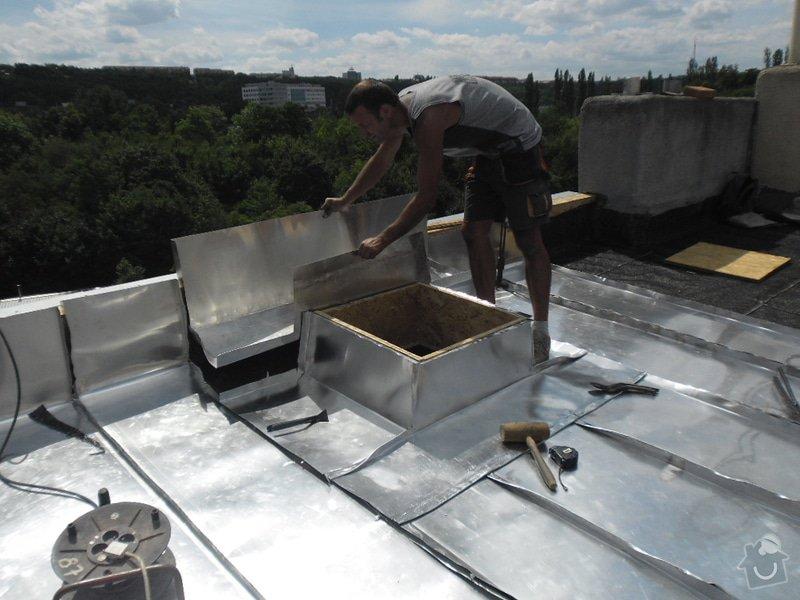Oprava střechy pergoly.: SAM_0460