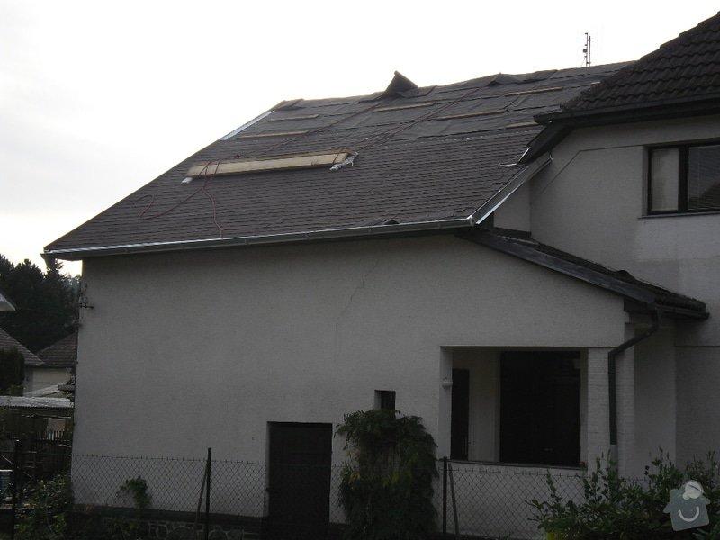 Oprava střechy pergoly.: SAM_0500