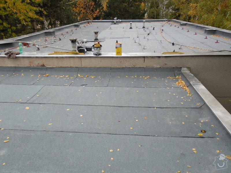 Oprava střechy pergoly.: SAM_0551