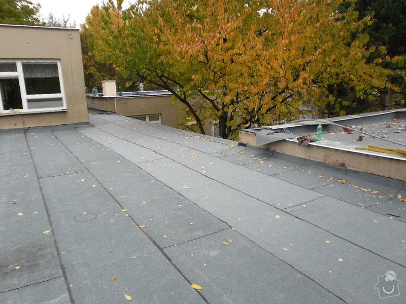 Oprava střechy pergoly.: SAM_0552